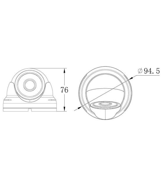 دوربین مداربسته الدر مدل ELD-HD1013IR