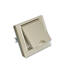 کلید و پریز ویرا الکتریک مدل کریستال بارانی