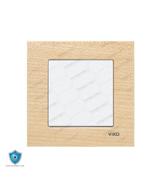 کلید و پریز ویکو مدل کادر چوبی Artilne