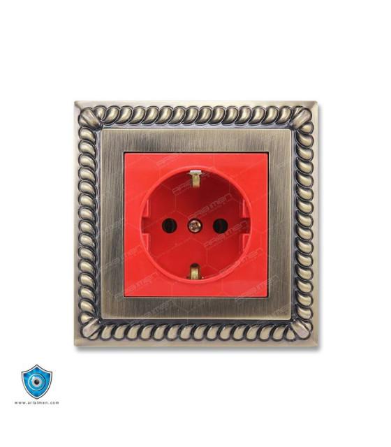کلید و پریز پارت الکتریک مدل اشکی