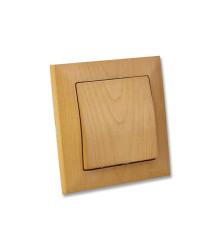 کلید و پریز موتلوسان مدل کاندلا طرح چوب