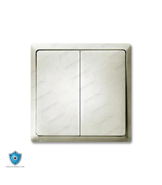 کلید و پریز مهسان مدل ارس سفید