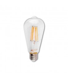 لامپ فیلامنتی 12 وات شعاع مدل SH-ST64-12W