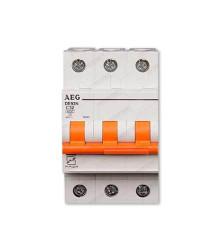 کلید مینیاتوری سه پل 6 آمپر AEG