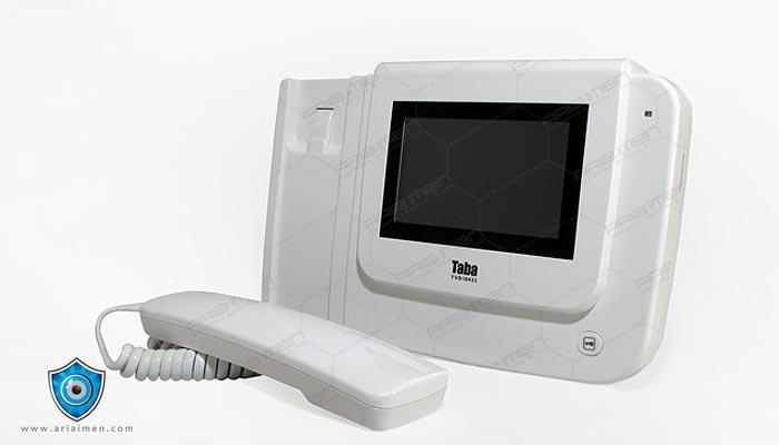 آیفون تصویری تابا دو سیم مدل 1043i