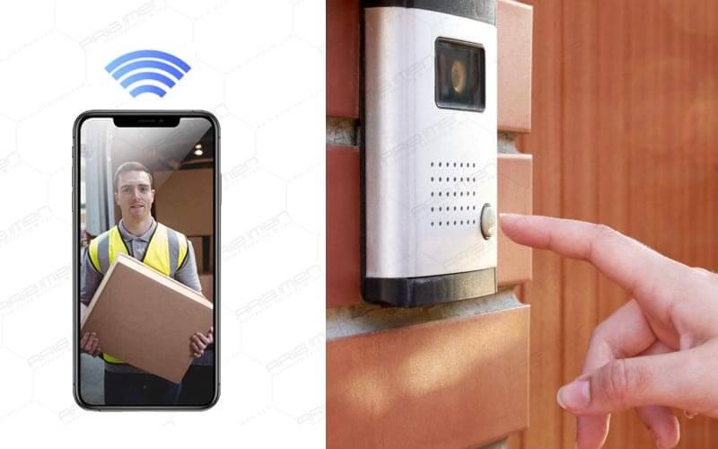 قابلیت باز کردن درب به وسیله گوشی