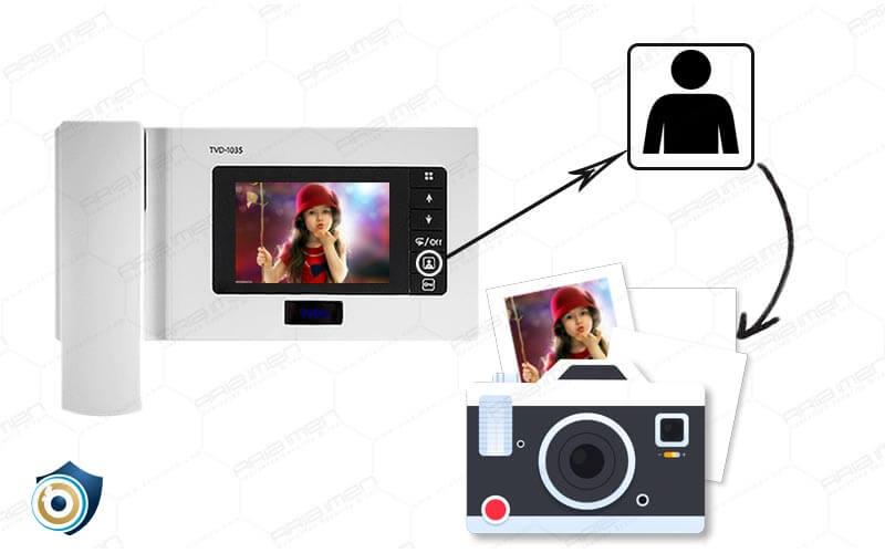قابلیت ذخیره عکس در آیفون تصویری
